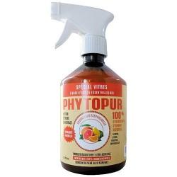 Nettoyant vitres Bio - Agrumes - Phytopur - 500 ml - Produits multi-usages - DE-265984