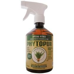 Nettoyant vitres Bio - Thym - Phytopur - 500 ml - Produits multi-usages - DE-265992