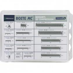 Boîte de 130 ressorts à compression - Acier - Câble / Chaîne - BR-314587