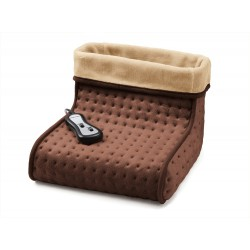 Chauffe-pieds massant avec télécommande - Marron - ASTORIA - Appareils de soin - DE-784728