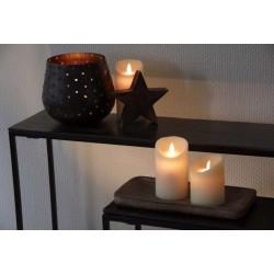 Photophore en métal - 18 cm - AUBRY GASPARD - Bougies de table / Accessoires - DE-448308