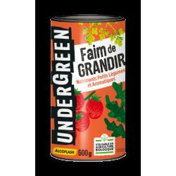 Faim de GRANDIR - Nutriments Petits Légumes et Aromatiques - 600 Grs - UNDERGREEN - Terreau - DE-384198
