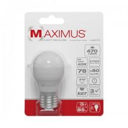 Ampoule LED bulb - E27 - 6 Watts - Maximus - DURACELL - Ampoules LED - DE-234518