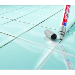 Marqueur pour joints de carrelage - Gris - EDDING - Joint de carrelage - DE-397588