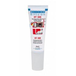 Tube de silicone liquide HT 300 - 85 ml - WEICON - Mastic de réparation - M897862
