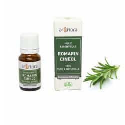 Huile essentielle BIO de Romarin Cinéole 100% pure et naturelle -10 ml - AROFLORA - Huiles essentiellles - DE-198424