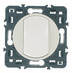 Interrupteur ou va-et-vient doigt large Céliane - 10 A - Blanc - LEGRAND - Appareillage : Commandes / interrupteurs... - BR-4...