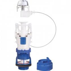 Soupape chasse d'eau - Rénovation - Clip'Easy - à€ câble - Double débit - Mécanisme de chasse - SI-677301