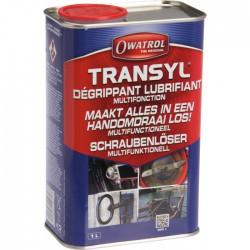 Dégrippant et lubrifiant multifonction, haute technicité - Transyl - 1 L - OWATROL - Solvant / Graisse - BR-679429