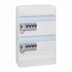 Tableau électrique équipé - spécial pour logement T1 ou T2 - LEGRAND - Tableau de distribution - BR-536345