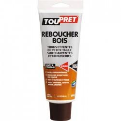 Enduit de rebouchage - Reboucher Bois - Trous et fentes - 330 Grs - TOUPRET - Enduit de rebouchage - BR-616102