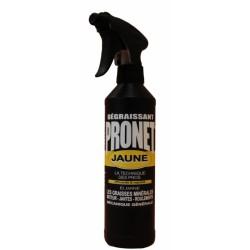 Dégraissant mécanique - Jaune - 500 ml - PRONET - Lustrage et entretien - DE-541318