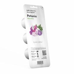 Capsule prête à planter - Pétunia - Click & Grow - Lot de 3 - EMSA - Engrais et activateur - DE-364299