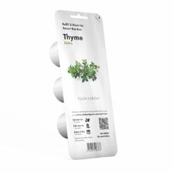 Capsule prête à planter - Thym - Click & Grow - Lot de 3 - EMSA - Engrais et activateur - DE-363861