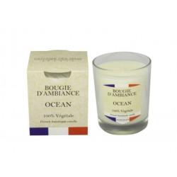 Bougie végétale - France Océan - ODYSSEE DES SENS - Bougies parfumées - DE-444182