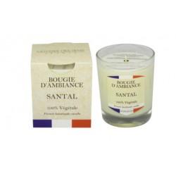 Bougie végétale - France Santal - ODYSSEE DES SENS - Bougies parfumées - DE-444083