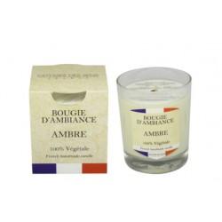 Bougie végétale - France Ambre - ODYSSEE DES SENS - Bougies parfumées - DE-441014