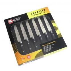 Coffret de 6 couteaux steack - Sabatier Trompette - RICHARDSON SHEFFIELD - Coutellerie - DE-755769