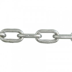 Bobine chaîne soudée droite maille courte 25 m - ⌀5 mm - Câble / Chaîne - BR-033824