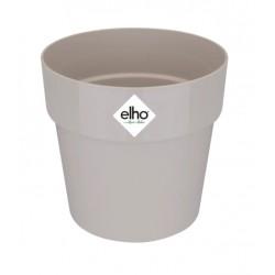 Cache-pot d'intérieur - B for Original Mini - 13.7 x 12.5 cm - Gris - ELHO - Pots ronds - DE-405283