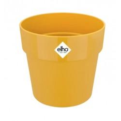 Cache-pot d'intérieur - B for Original Mini - 13.7 x 12.5 cm - Ocre - ELHO - Pots ronds - DE-405275