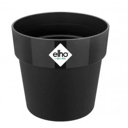Cache-pot d'intérieur - B for Original Mini - 15.9 x 14.6 cm - Noir - ELHO - Pots ronds - DE-523382