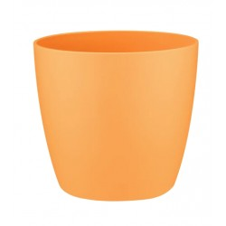 Cache-pot d'intérieur - Brussels Mini - 6.7 x 6 cm - Orange - ELHO - Pots ronds - DE-402157
