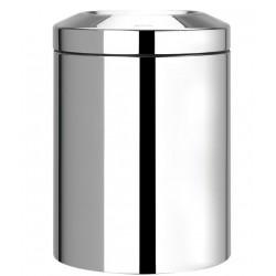 Poubelle pour papiers anti-feu - Acier brillant - 7 L - BRABANTIA - Poubelle - SI-158883