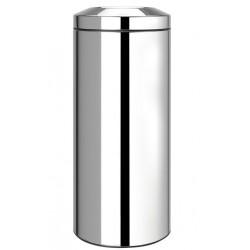 Poubelle pour papiers anti-feu - Acier brillant - 30 L - BRABANTIA - Poubelle - SI-158884
