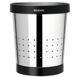 Poubelle pour papiers - Acier brillant - 5 L - BRABANTIA - Poubelle - SI-158882