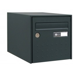 Boîte aux lettres - Steel Box - Simple face - Anthracite - DECAYEUX - Boîte aux lettres - SI-405652