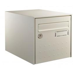 Boîte aux lettres - Steel Box - Double face - Beige - DECAYEUX - Boîte aux lettres - SI-405655