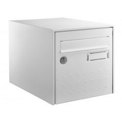 Boîte aux lettres - Steel Box - Double face - Blanc - DECAYEUX - Boîte aux lettres - SI-405657