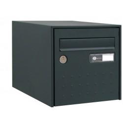 Boîte aux lettres - Steel Box - Double face - Anthracite - DECAYEUX - Boîte aux lettres - SI-405653