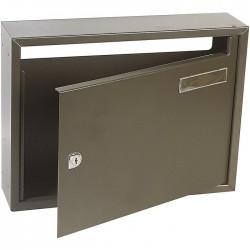 Boîte aux lettres - Commerciale 2 - Marron - DECAYEUX - Boîte aux lettres - SI-333121