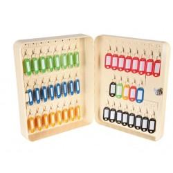 Coffret àclés - Crochets fixes 45 clés - Beige - THIRARD - Boite à clés - SI-831014