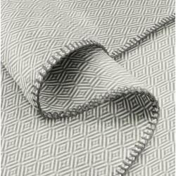 Plaid - Motifs Gris 2 tons - 150 x 200 cm - BIEDERLACK - Plaids / Couvertures - DE-215758