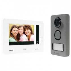 Kit interphone vidéo couleur tactile Mini Note Plus - URMET - Carillons / Sonnettes / Interphones - SI-109151