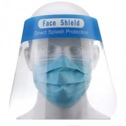 Visière plexi à cordon élastique - Masques de protection - DE-546367