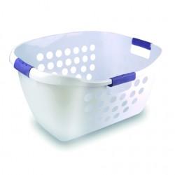 Corbeille à linge - 50 L - Poignées anti glissantes - LAGUELLE - Rangement et soin du linge - DE-483552