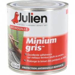 Primaire antirouille - Minium Gris - Protection anti-corrosion durable - 500 ml - JULIEN - Antirouille - BR-113646