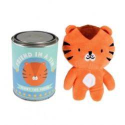 Peluche Doudou - Terry le Tigre - REX LONDON - Enfants / Protection enfants - DE-475245