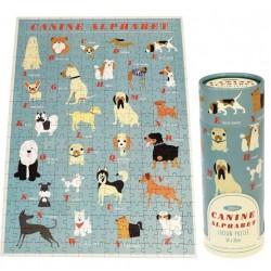 Puzzle 300 pièces - Alphabet thème Chiens - REX LONDON - Enfants / Protection enfants - DE-475369