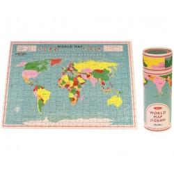 Puzzle 300 pièces - Carte du monde - REX LONDON - Enfants / Protection enfants - DE-475385