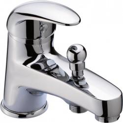 Mitigeur bain-douche - Monotrou - City 2 - Manette pleine - SIDER - Robinets / Mitigeurs - SI-210896