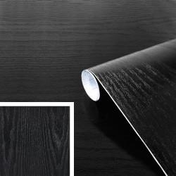 Adhésif - Bois Noir - 45 cm x 15 m - D C FIX - Adhésifs décoratifs - DE-365818