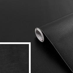Adhésif - Cuir Noir - 45 cm x 2 m - D C FIX - Adhésifs décoratifs - DE-383505