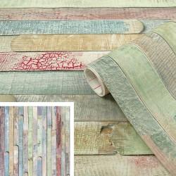 Adhésif - Bois peint Rio - 45 cm x 2 m - D C FIX - Adhésifs décoratifs - DE-383456