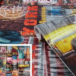 Adhésif - Manhattan - 45 cm x 2 m - D C FIX - Adhésifs décoratifs - DE-377580