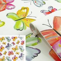 Adhésif - Papillons - 45 cm x 2 m - D C FIX - Adhésifs décoratifs - DE-383654